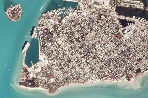 Wyspa Key West (Floryda) okiem jednego z satelitów konstelacji Planet (zdjęcie z 3 stycznia 2017) / Credits - Planet