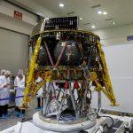 Prezentacja lądownika Beresheet firmy SpaceIL (zdjęcie z lipca 2018) / Credits - REUTERS/Ronen Zvulun