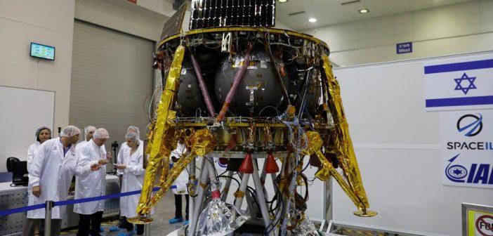 Prezentacja lądownika SpaceIL