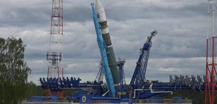Rakieta Sojuz 2.1w, która 23 czerwca 2017 wyniosła na orbitę Kosmosa 2519 (oraz Kosmosa 2521 i Kosmosa 2523) / Credits - Rosyjskie Ministerstwo Obrony