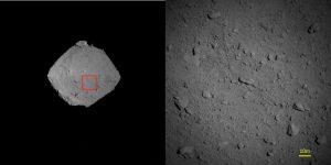 Obserwacje Ryugu z odległości mniejszej od 1 km - obrazy z 6 sierpnia 2018 / Credits - JAXA