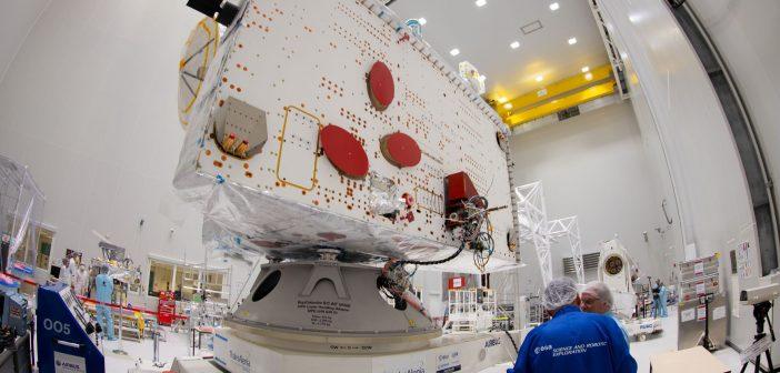 Sonda Mercury Planetary Orbiter na terenie kosmodromu / credits: ESA - S. Corvaja
