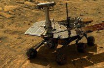 Wizualizacja łazika Opportunity na Marsie / NASA