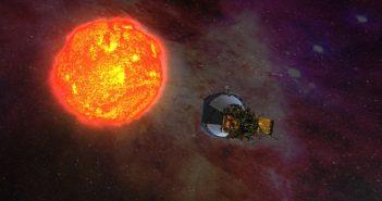 Wizualizacja Parker Solar Probe / NASA