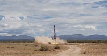 Testowy lot suborbitalny Exos Aerospace