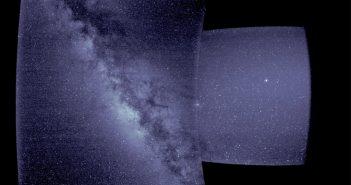 Pierwsze światło z instrumentu WISPR / Credits - NASA/Naval Research Laboratory/Parker Solar Probe