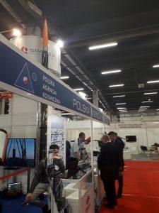 Na polskim stanowisku kosmicznym na MSPO prezentowana była m.in. rakieta Bigos 4 firmy SpaceForest