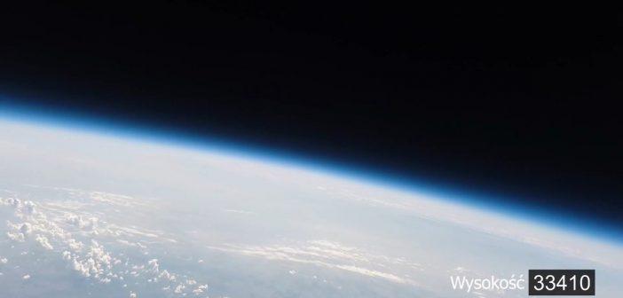 """Spojrzenie na Ziemię ze stratosfery, wykonane podczas lotu z 4 sierpnia 2018 / Credits - """"Z Ujazdu w kosmos"""", Sołectwo Ujazd"""