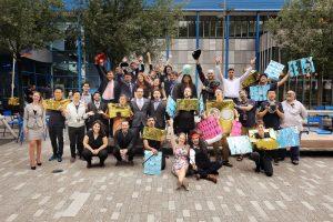 Uczestnicy projektu zespołowego dotyczącego pogody / Credits - International Space University