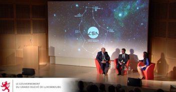 Otwarcie agencji kosmicznej Luksemburga / Credits - gouvernement.lu