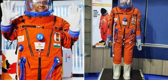 Skafander kosmiczny ISRO / Credits - ISRO