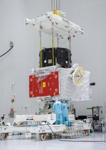 Połączone orbitery MMO oraz MPO / credits: ESA/CNES/Arianespace/Optique video du CSG – J. Odang