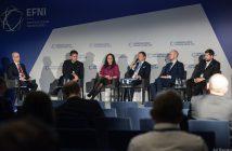 """Panel """"Kosmos 4.0 – jak wynieść biznes na orbitę?"""" na EFNI 2018 / Credits - Rainka, EFNI, Konfederacja Lewiatan"""