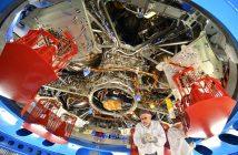 Końcowe prace nad modułem serwisowym MPCV Orion do misji EM-1 / Credits ESA–A. Conigli