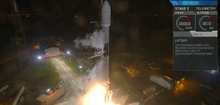 Udany start Falcona 9 z telekomunikacyjnym Telstar 18 Vantage