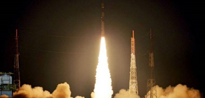 Indyjski start z dwoma satelitami (16.09.2018)