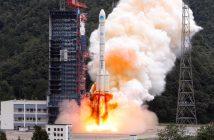 Start CZ-3B z dwoma satelitami BeiDou - 15.10.2018 / Credits - CCTV