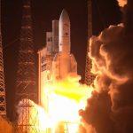 Start Ariane 5 z BepiColombo - 20.10.2018 / Credits - arianespace