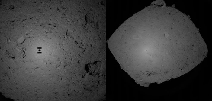 Spojrzenia na Ryugu z sondy Hayabusa 2 podczas zbliżania z dni 24-25 października 2018 / Credits - JAXA, University of Tokyo, Kochi University, Rikkyo University, Nagoya University, Chiba Institute of Technology, Meiji University, University of Aizu, AIST