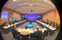 "Uczestnicy tegorocznej ""małej"" Rady Ministerialnej ESA / Credits - ESA"