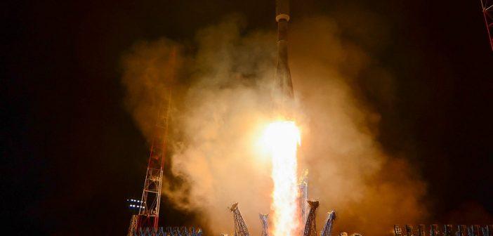 Start Sojuza 2.1b z Kosmosem 2528 / Credits - Roskosmos