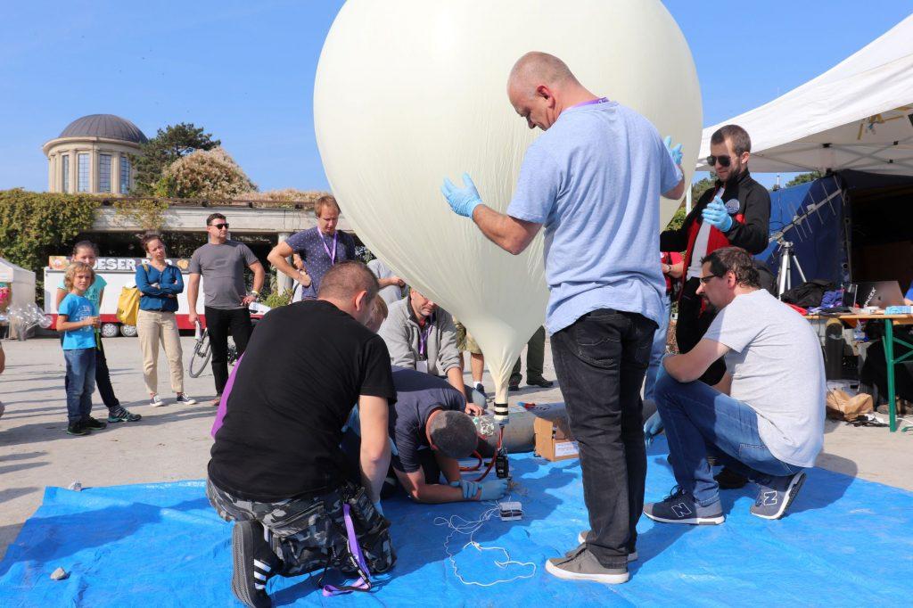 Start balonu stratosferycznego / credits: WroSpace
