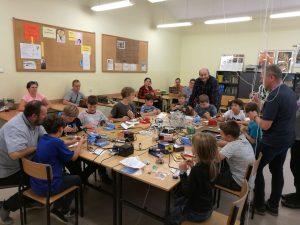 Uczestnicy podczas warsztatów / credis: WroSpace