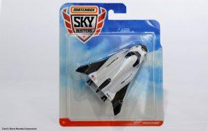 Model Dream Chaser oferowany przez firmę Matchbox / Credits - Sierra Nevada Corporation
