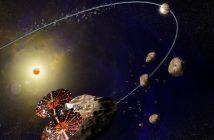 Grafika prezentująca misję Lucy / Credits - NASA