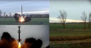 Kadry ze startu rakiety BIGOS 4 / Credits - SpaceForest