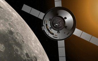 Kapsuła załgowa MPCV Orion / credits: NASA