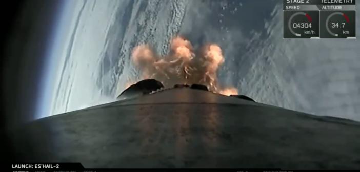 Udany start Falcona 9 z satelitą dla Kataru