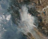 Obserwacje pożarów w Kalifornii