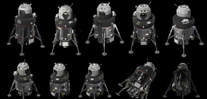 Prezentacja koncepcji lądownika księżycowego firmy Lockheed Martin / Credits - Lockheed Martin