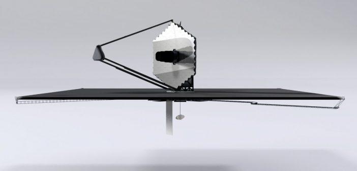 Wizualizacja teleskopu LUVOIR / Credits - NASA
