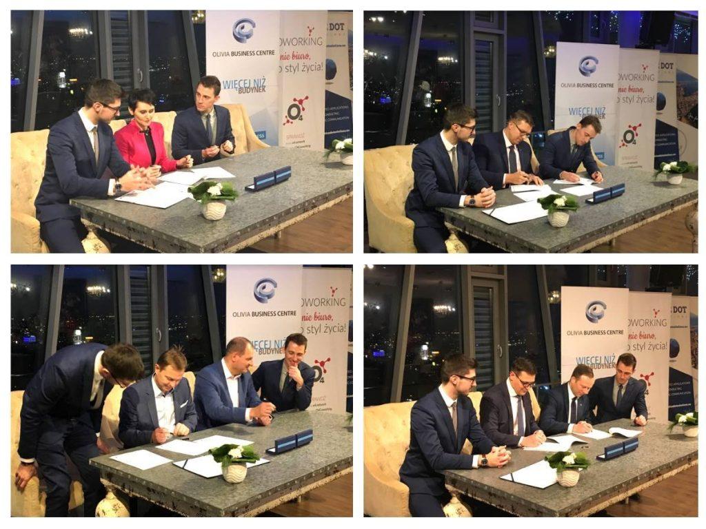 Podpisanie umowy na realizację Space3ac Poland Prize / Credits - Interizon