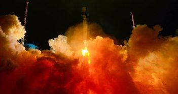 Start rakiety Rokot w dniu 30 listopada 2018 roku. / Credits - Andriej Morgunow