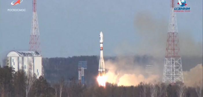 Start Sojuza-2.1a z kosmodromu Wostoczny - 27.12.2018 / Credits - Roskosmos