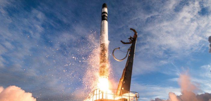 Udany start rakiety Electron (16.12.2018)