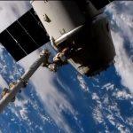 Dragon CRS-16 podczas odłączania od ISS / Credits - NASA TV