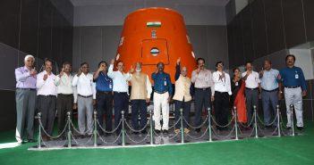 Inauguracja Centrum Lotów Załogowych / ISRO