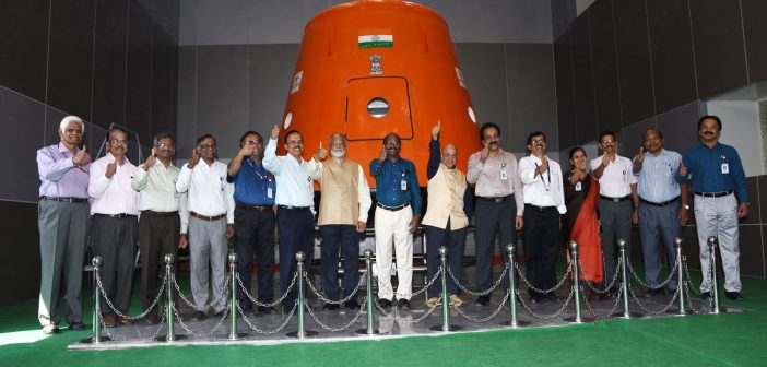 Indyjska stacja orbitalna – pierwsza wzmianka