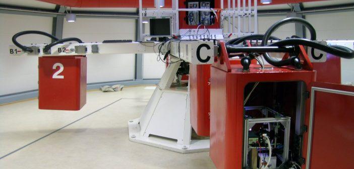 Wirówka LDC w ESA ESTEC / Credits - ESA