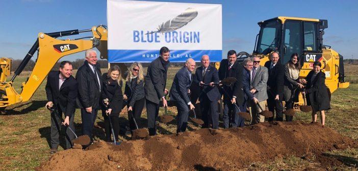 Blue Origin rozpoczyna budowę fabryki silników rakietowych