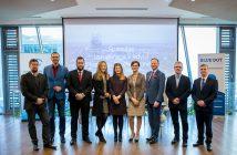 Wspólne zdjęcie przedstawicieli Odbiorców Technologii, PARP i Blue Dot Solutions
