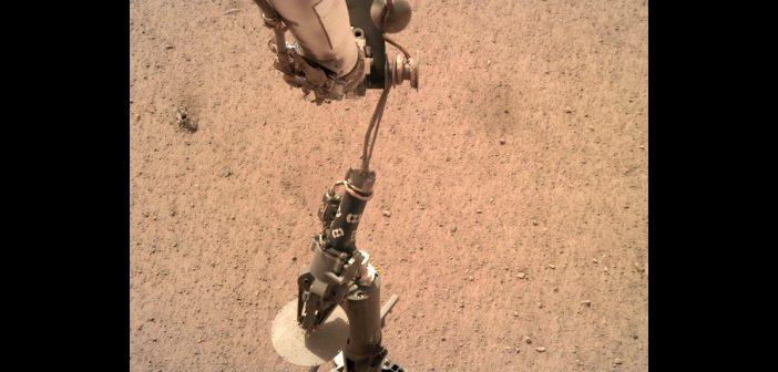 HP3 dotknął powierzchni Marsa