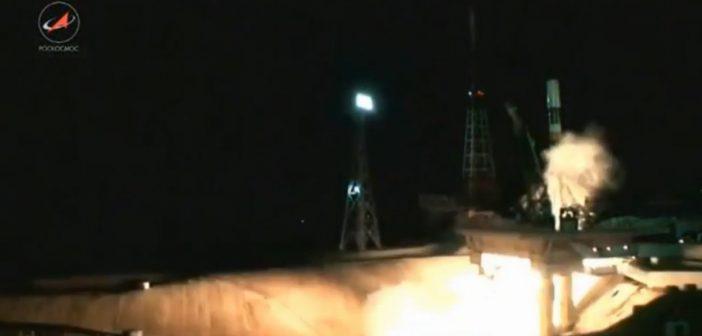 Start Sojuza-2.1b z EgiptSat-B / Credits - Roskosmos