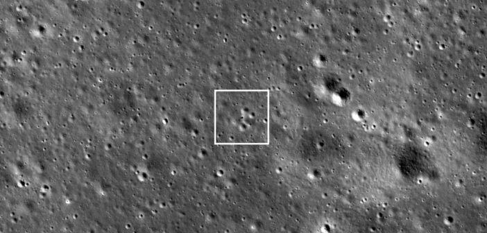 Chang'e 4 ponownie obserwowany przez LRO
