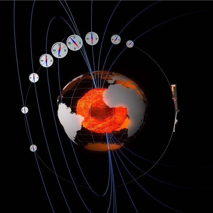 Kompas kosmiczny / credits: ESA/ATG Medialab