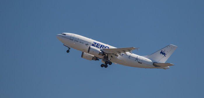 Start samolotu Zero-G / credits: ESA